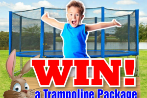 Jump Star – Win a Trampoline Plus $200 Worth of Easter Eggs (prize valued at $700)