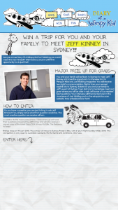 Just Kidding – Win a Trip for You and Your Family to Meet Jeff Kinney In Sydney