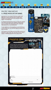 Just Kidding – Win One of Five Pacific Rim Packs