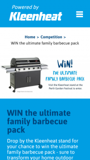 Kleenheat – Win The Ultimate Family Barbecue Pack