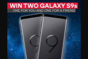 Kogan – 'win Two X Galaxy 9's' Competition (prize valued at $999)
