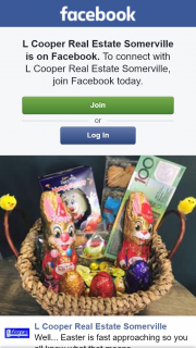 L Cooper Real Estate Somerville – Win an Easter Hamper & $100 Cash (prize valued at $200)