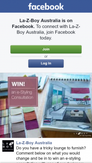 La-z-Boy – Win an E-Styling Consultation With One of Our Designers