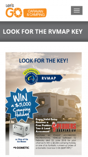 Let's Go Caravan & Camping – Win a $5000 Camping Holiday