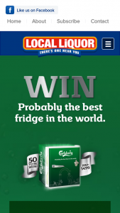 Local Liquor – Win a Carlsberg Fridge Valued at $499.00 Aud (prize valued at $499)