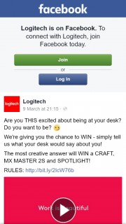 Logitech – Win a Craft