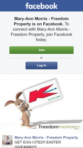 Mary-Ann Morris Freedom Property – Win a $150 Kmart Gift Card (prize valued at $150)