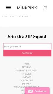 Minkpink – Win a $500 Minkpink World Voucher