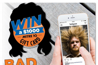 Mitre 10 – Win a $1000 Mitre 10 Gift Car to Spend on Your Next Job (prize valued at $1,000)