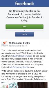 Mt Ommaney – Win a $100 Mt Ommaney Centre Gift Card
