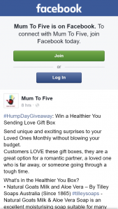 Mum to Five – Win a Healthier You Sending Love Gift Box
