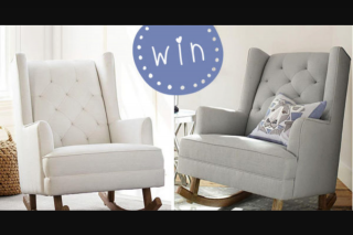 Mums Grapevine – Win a Pottery Barn Kids Modern Tufted Wingback Rocker Valued at $1599 In Their Choice of Linen Blend Grey Or Linen Blend White (prize valued at $1,599)