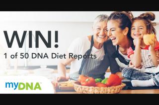 MyDNA – Win 1 of 50