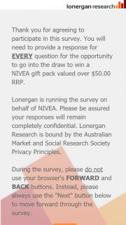 Nivea – Win a Nivea Gift Pack Valued Over $50.00