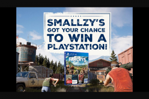 Nova FM Smallzy's got your chance to – Win a Playstation 4