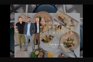 Nova 106.9FM – Win an Invite to an Intimate Dinner and Stay The Night With Ash (prize valued at $17,770)