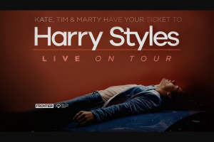 Nova FM – Win Tickets to Harry Styles Live on Tour (prize valued at $260)