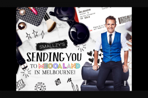 NovaFM Smallzy is sending you to Meccaland in Melbourne – Win The Ultimate Girl's Weekend (prize valued at $12,990)