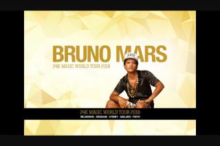 NovaFM Smallzy is sending you to see Bruno Mars live from a corporate box – Competition