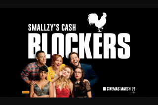 NovaFM – Win $5000 With Smallzy's Cash Blockers (prize valued at $5,000)