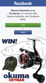 Okuma Australia – Win The Tested and Proven Okuma Ceymar C-30 Spinning Reel and Okuma Camo Cap for You and a Mate