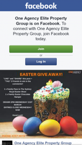One Agency Elite Property Group – Win Family Ticket to Easter Show & Easter Chocolate Hamper