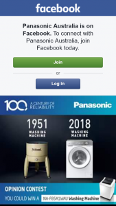 Panasonic – Win a Premium Panasonic Washing Machine