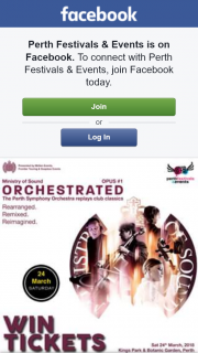 Perth Festivals & Events – Win Double Pass to See Mos Orchestrated