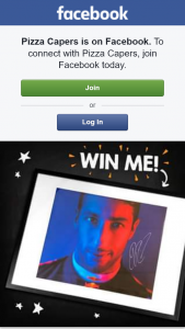 Pizza Capers – Win a Signed Portrait of Daniel Ricciardo (prize valued at $500)