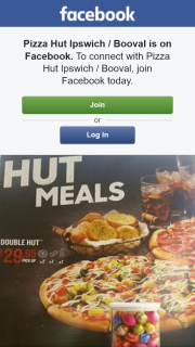 Pizza Hut Ipswich-Booval – Win Easter Eggs & a Double Hut Meal
