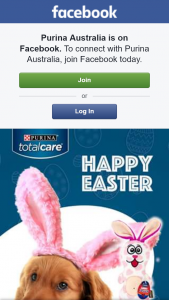 Purina – Win a Total Care Easter Bunny Toy