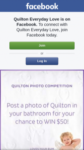 Quilton Everyday Love – a $50 Gift Voucher to With The Most Creative Quilton Bathroom Photo