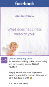 Quilton Everyday Love – Win a $50 Coles Gift Voucher