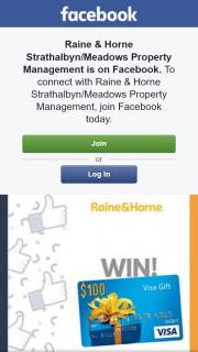 Raine & Horne Strathalbyn-Meadows Property Management – Win a $100 Preloaded Debit Card Pick Up Prize Strathalbyn (prize valued at $100)