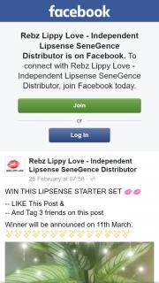 Rebz Lippy Love – Win this Lipsense Starter Set