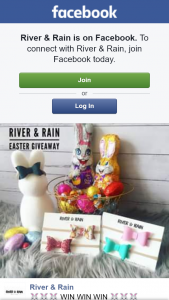 River & Rain – Win this Awesome Easter Hamper