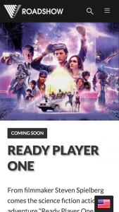 Roadshow – Win 1 of 15 Ready Player One Prize Packs (prize valued at $269.59)