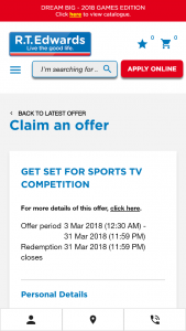 """RT Edwards """"Qld Residents"""" Rent or Buy to – Win a Lg 65inch Wallpaper Oled Uhd Smart Tv (prize valued at $9,995)"""