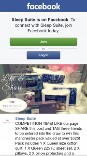 Sleep Suite – Win this Manchester Pack Valued at Over $325 (prize valued at $325)