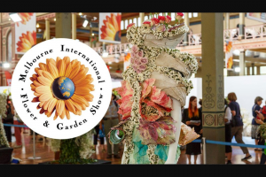 Smooth FM – Win a Double Pass to The Melbourne International Flower & Garden Show