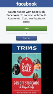 South Aussie With Cosi – Win $250 Worth of Free Clothes From Trims