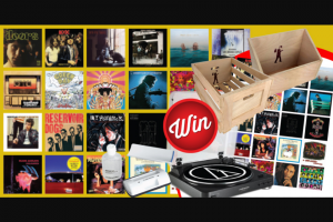 Stack magazine Sign-up & – Win an Epic Vinyl Prize Pack