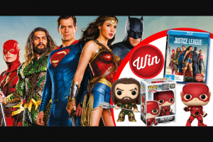Stack Magazine – Win The Flash and Aquaman Pop