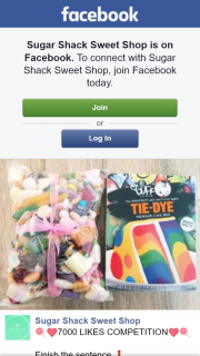 Sugar Shack Sweet Shop – Win a 1kg Bag of Mixed Lollies & Tye Dye Cake Mix