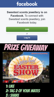 Sweetest Scents jewellery – Win Two Tickets to Sydney Royal Easter Show