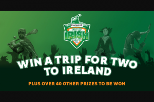 Sydney Irish Festival – Win a Maximum of One (1) (prize valued at $14,580)