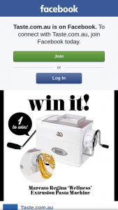 Taste – Win a Marcato Regina 'wellness' Extrusion Pasta Machine (prize valued at $186)