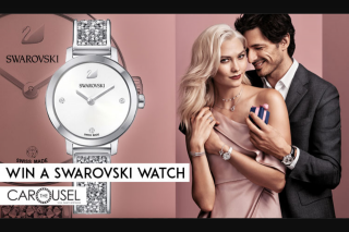 The Carousel – Win a Superb Cosmic Rock Watch By Swarovski (prize valued at $449)