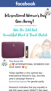 The Good Oil – Win The Sold Out Beautiful Blend and Touch Clutch