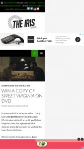 The Iris – Win a Copy of Sweet Virginia on DVD